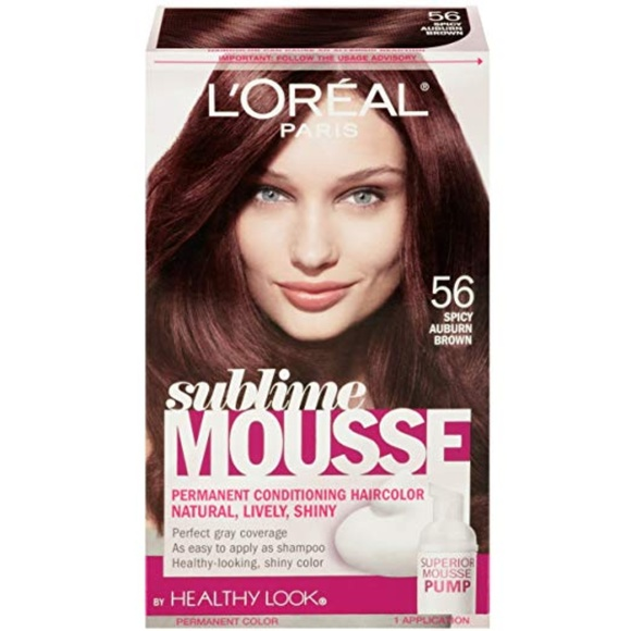 L'Oreal Other - L'Oreal Sublime Mousse 56 Spicy Auburn Brown
